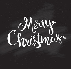 Merry Christmas hand drawn font