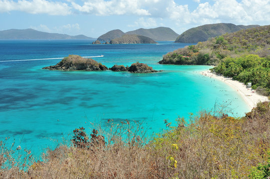beautiful Beach in U.S. Virgin Islands