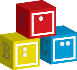 Braille ABC Letter Blocks