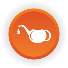 Watering can Spout vector icon