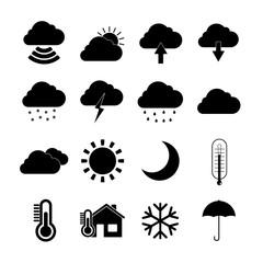 Weather Web Icons Set