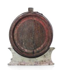 Barrel isolated on white
