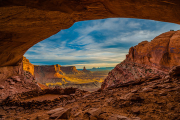 False Kiva Canyonlands National Park Fototapete