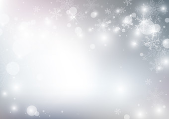 Vector abstract christmas background design