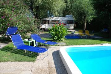 Pool at Camp Site