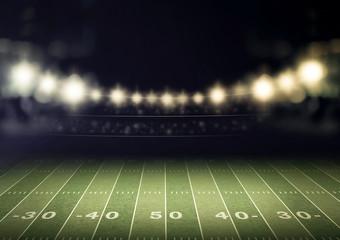 stadium and spotlight