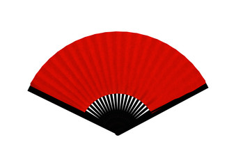 Red Asian Fan