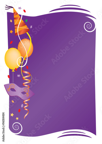 Carnival Decorative Background Colorful Background For Carnival And