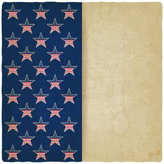 American stars old background