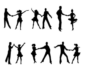 Six dancing couples