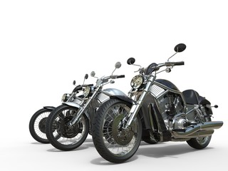 Three awesome motorcycles