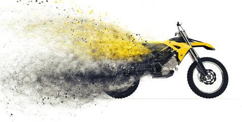 Dirt Bike Disintegration