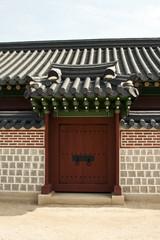 Ancient door Korean style