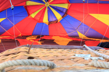 colored air balloon