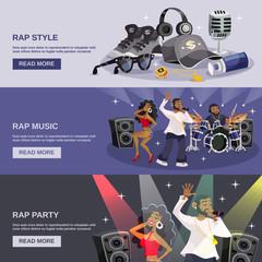 Rap Music Banner