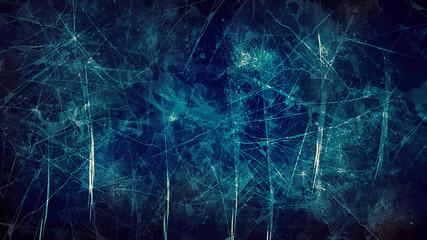 Dark blue scribble background.