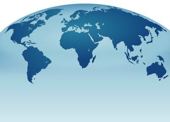 Dünya Haritası  (Panorama)