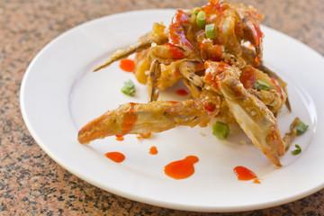 Fried Thai Crab Legs