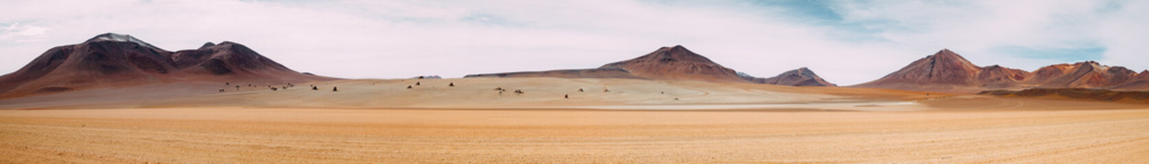 In de dag Zandwoestijn The vast expanse of nothingness - Atacama Desert - Bolivia