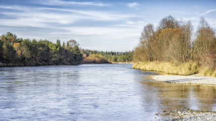 river isar autumn