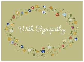 Condolence Sympathy card