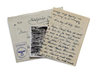 Alte Brief. II Weltkrieg.