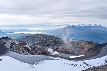 Misti volcano also known as Putina or El Misti near Arequipa city, Peru