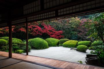 Poster Kyoto 詩仙堂・庭園