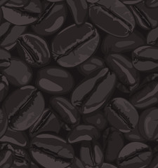 Coffee Beans Background, Coffee Beans Background, Coffee Beans Pattern Vector, Coffee Beans Seamless Pattern, Seamless Coffee Bean Pattern, Seamless Pattern Coffee Beans