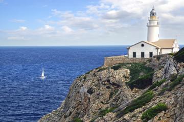 Wall Mural - Capdepera Lighthouse, Mallorca
