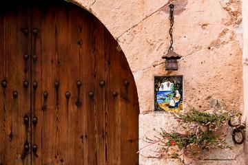 Valldemossa - Schild am Haus 4