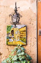 Valldemossa - Schild am Haus 2