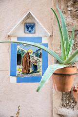 Valldemossa - Schild am Haus 1