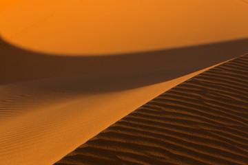 Poster de jardin Desert de sable Moroccan desert landscape. Dunes background..