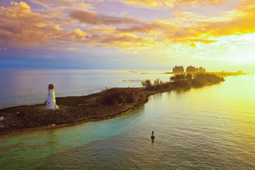 nassau bahamas at dawn