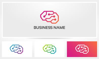 Cyber Brain Logo