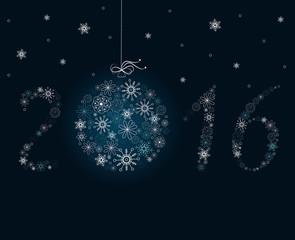 New Year decoration.