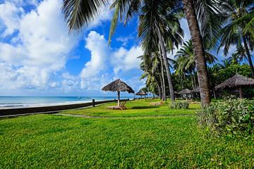 African coast Diani