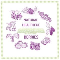 Natural healthful berries