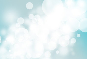 Blue glitter sparkle defocused rays lights bokeh