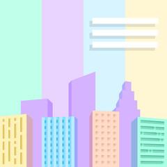 Big city scene.