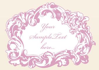 original imperial frame pink