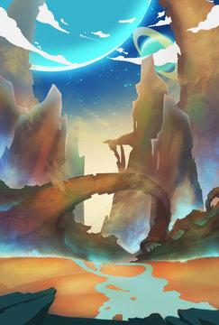 Alien World Wilderness