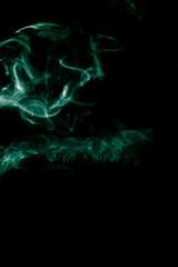 Smoke-shaped Monster,black background