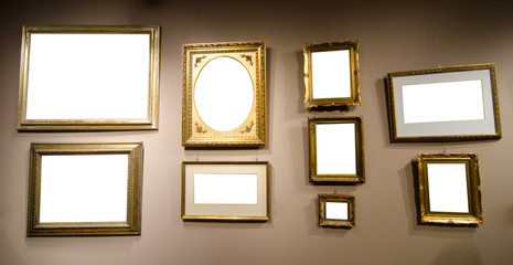gallery with frames for your pictures