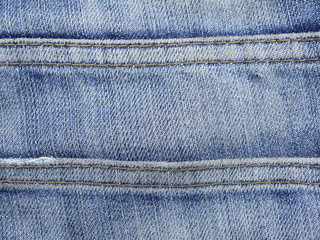 old Jeans texture with seam