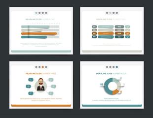 Slide business templates. Infographics for leaflet, poster, slide, magazine, book, brochure, website, print.