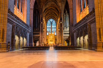 Liverpool Cathedral nave