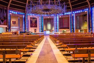 Liverpool Metropolitan Cathedral inside C