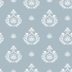 Wall Mural - Damask floral pattern